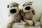 Knuffel beer Zippies met naam
