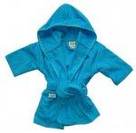 Badjas Turquoise met Naam 1-2 jaar