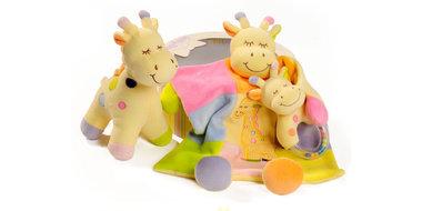 Babybow 3-delig Giraf babycadeau in box