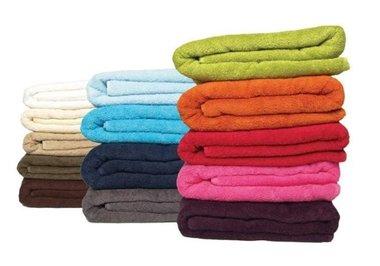 Handdoek met bedrijfsnaam/logo
