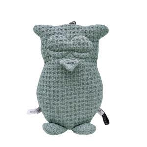 Bamboom Music Box Owl Soft Stone Olive