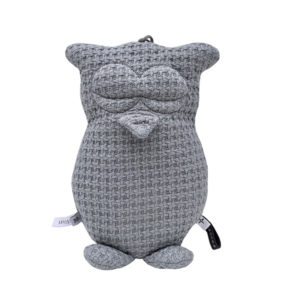Bamboom Music Box Owl Soft Stone Grey
