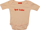 """Baby Gags Romper """"Hot Babe"""""""